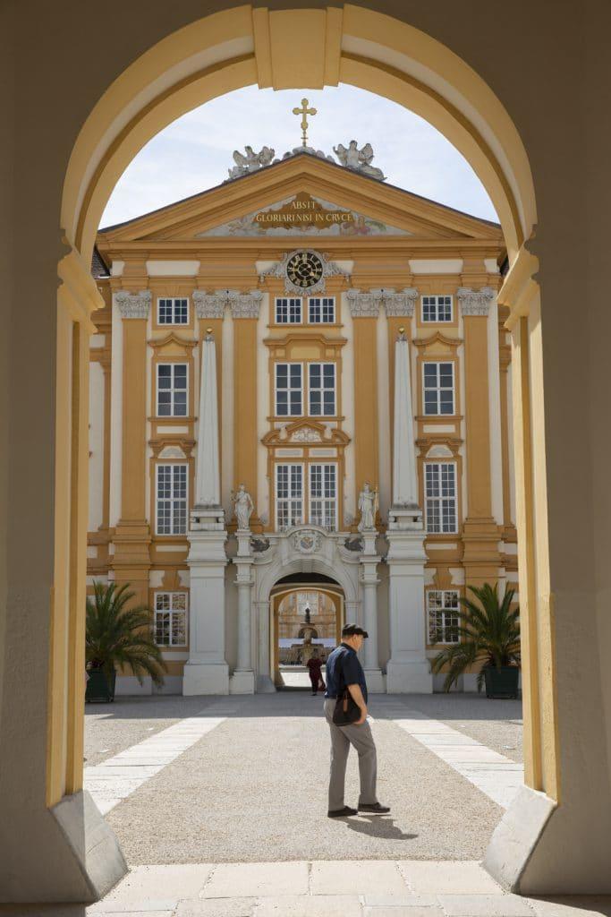 Cour intérieure de l'abbaye de Melk