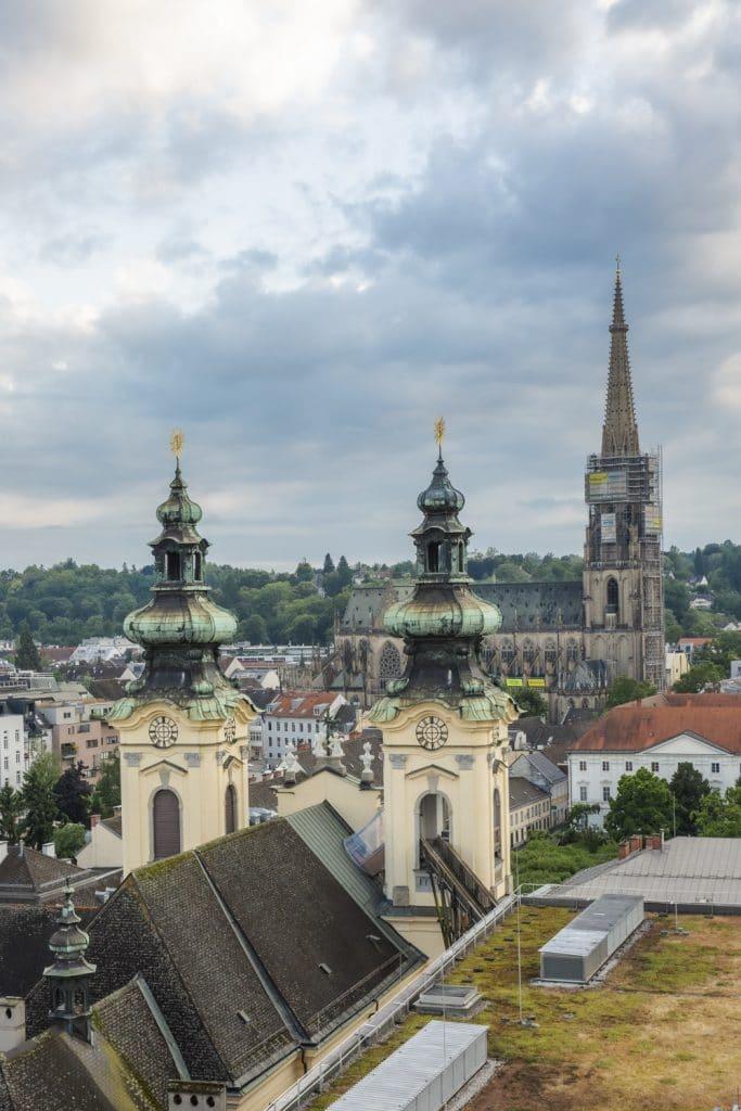 Les toits de Linz